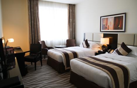 Hotel tempat menginap selama Candidate Weekend